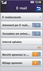 LG GD900 Crystal - E-mail - Handmatig instellen - Stap 6
