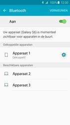Samsung G925F Galaxy S6 Edge - Bluetooth - headset, carkit verbinding - Stap 8