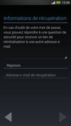 HTC One - Applications - Créer un compte - Étape 14