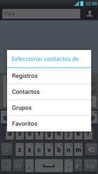 LG Optimus L9 - Mensajería - Escribir y enviar un mensaje multimedia - Paso 6