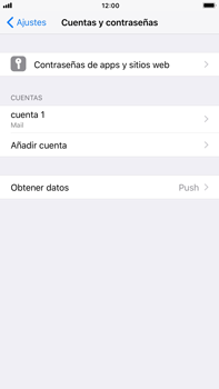 Apple iPhone 7 Plus iOS 11 - E-mail - Configurar correo electrónico - Paso 25