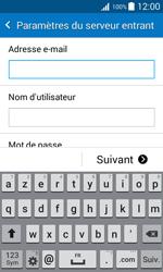 Samsung J100H Galaxy J1 - E-mail - Configurer l