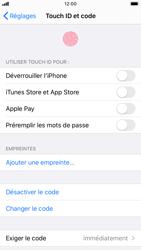 Apple iPhone 8 - iOS 13 - Sécurité - activéz le code PIN de l'appareil - Étape 8