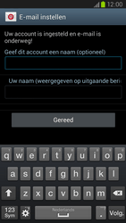 Samsung I9305 Galaxy S III LTE - E-mail - Account instellen (POP3 zonder SMTP-verificatie) - Stap 17
