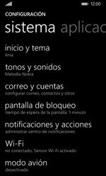 Nokia Lumia 635 - WiFi - Conectarse a una red WiFi - Paso 4