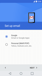 LG LG G5 - E-mail - Manual configuration (gmail) - Step 8