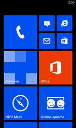 Nokia Lumia 520 - Applicaties - Account aanmaken - Stap 1