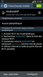 Samsung Galaxy Grand 2 4G - Internet et connexion - Partager votre connexion en Wi-Fi - Étape 11