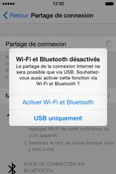 Apple iPhone 4S (iOS 8) - Internet et connexion - Utiliser le mode modem par USB - Étape 7