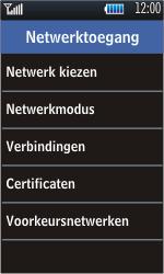 Samsung S5620 Monte - Buitenland - Bellen, sms en internet - Stap 5
