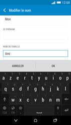 HTC One (M8) - Contact, Appels, SMS/MMS - Ajouter un contact - Étape 11