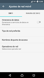 Sony Xperia XA1 - Red - Seleccionar una red - Paso 6