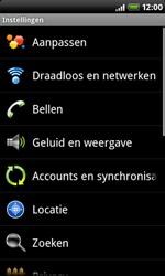 HTC A8181 Desire - Voicemail - handmatig instellen - Stap 4