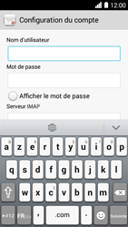 Huawei Ascend Y530 - E-mail - Configuration manuelle - Étape 8