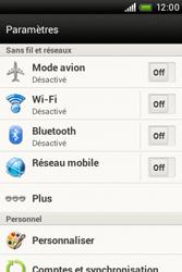 HTC A320e Desire C - MMS - configuration manuelle - Étape 5