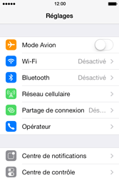 Apple iPhone 4 - Aller plus loin - Désactiver les données à l'étranger - Étape 3
