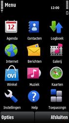 Nokia X6-00 - Voicemail - handmatig instellen - Stap 4