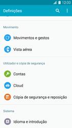 Samsung Galaxy S5 - Repor definições - Como repor definições de fábrica do telemóvel -  5
