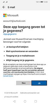 Huawei Mate 20 - E-mail - Handmatig instellen (outlook) - Stap 7