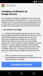 Sony Xpéria M2 - Internet et connexion - Naviguer sur internet - Étape 4
