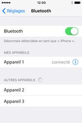 Apple iPhone 4 S iOS 9 - WiFi et Bluetooth - Jumeler votre téléphone avec un accessoire bluetooth - Étape 6