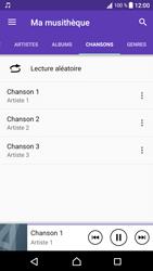 Sony Xperia XA1 - Photos, vidéos, musique - Ecouter de la musique - Étape 8