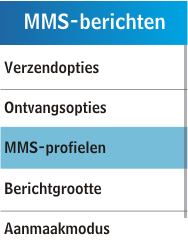 Samsung C3300K - MMS - handmatig instellen - Stap 6