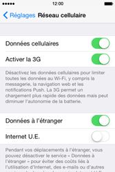 Apple iPhone 4 S - iOS 8 - Internet - Utilisation à l