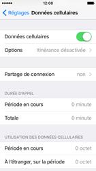 Apple iPhone SE - Aller plus loin - Désactiver les données à l'étranger - Étape 4
