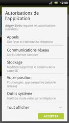 Sony Ericsson Xpéria Arc - Applications - Télécharger une application - Étape 18