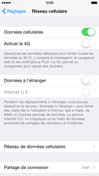 Apple iPhone 6 iOS 8 - Internet - activer ou désactiver - Étape 4