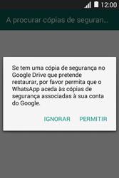 Samsung Galaxy Fame - Aplicações - Como configurar o WhatsApp -  9