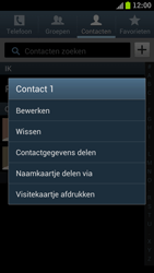 Samsung I9300 Galaxy S III - Contacten en data - Contacten overzetten via Bluetooth - Stap 5
