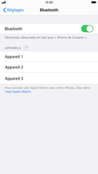 Apple iPhone 8 Plus - iOS 13 - Bluetooth - connexion Bluetooth - Étape 7