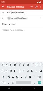 Wiko View 2 Plus - E-mail - envoyer un e-mail - Étape 7