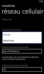HTC Windows Phone 8S - Internet - activer ou désactiver - Étape 6