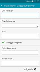 Samsung Galaxy Alpha - E-mail - Handmatig instellen - Stap 12