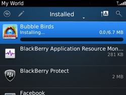 BlackBerry 9720 Bold - Applications - Downloading applications - Step 17