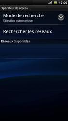 Sony Ericsson Xperia Arc - Réseau - Utilisation à l