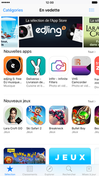 Apple iPhone 6 Plus iOS 9 - Applications - MyProximus - Étape 3