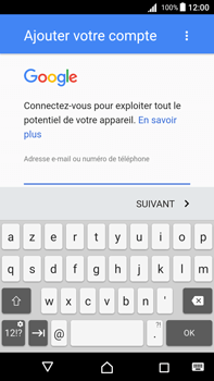 Sony Xperia Z5 Premium (E6853) - Android Nougat - E-mail - Configuration manuelle (gmail) - Étape 10