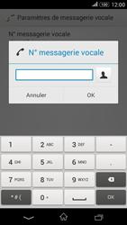 Sony E2003 Xperia E4G - Messagerie vocale - configuration manuelle - Étape 9