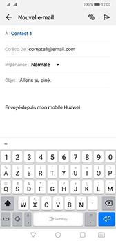 Huawei Mate 20 - E-mail - envoyer un e-mail - Étape 7