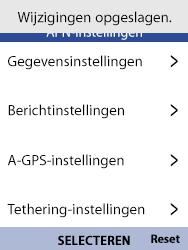 Nokia 8110-ta-1071 - Internet - Handmatig instellen - Stap 16