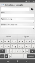 Sony Xperia E4 - Email - Configurar a conta de Email -  11