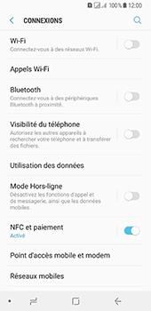 Samsung Galaxy A8 (2018) - Réseau - Sélection manuelle du réseau - Étape 5