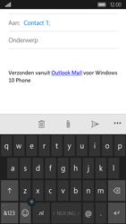 Acer Liquid M330 - E-mail - E-mails verzenden - Stap 7
