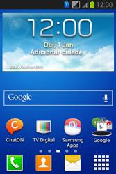 Samsung S6293T Galaxy Young Plus - Rede móvel - Como ativar e desativar o modo avião no seu aparelho - Etapa 1