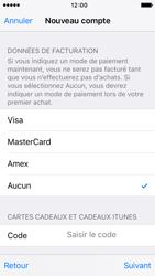 Apple iPhone 5s iOS 9 - Applications - Créer un compte - Étape 18
