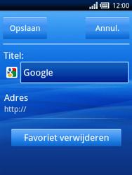 Sony Ericsson Xperia X10 Mini Pro - Internet - Hoe te internetten - Stap 7